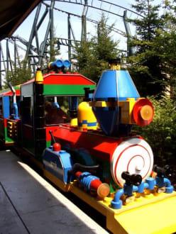 Zugfahrt - Legoland