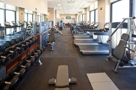 Fitness Center on 35th floor -