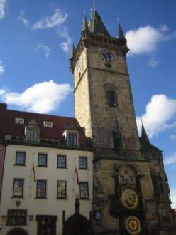 Prag, Rathausplatz - Altstädter Rathaus