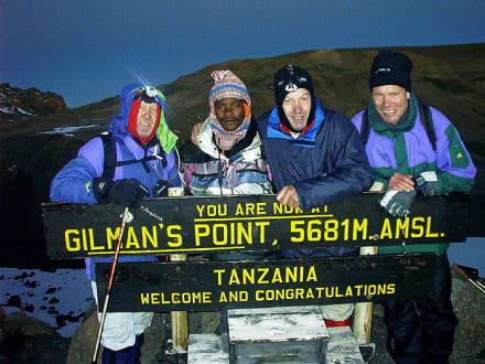 Gillman's Point - Kilimanjarobesteigung