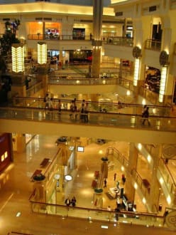 Shopping Mall im Taipei 101 - Fernsehturm