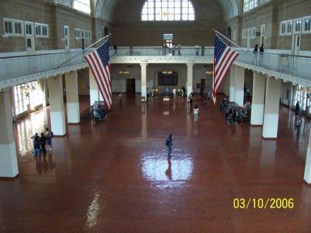 Eingangshalle - Ellis Island
