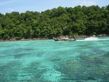 Ausflugstipp / Schnorcheltour Surin Island - Koh Surin Inseln