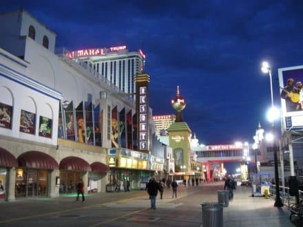 Der Boardwalk in Atlantic City - Boardwalk
