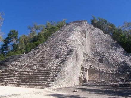Pyramide Coba - Ruinenstätte Cobá