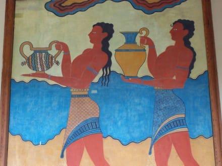 Minotische Wandmalereien in Knossos - Knossos