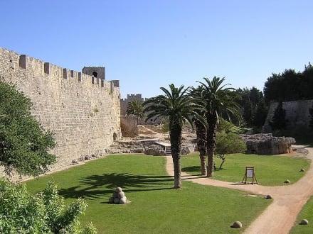 Stadtmauer von Rhodos - Stadtmauer Rhodos