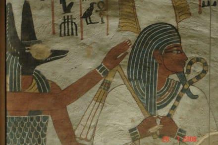 Wandmalerei - Beamten- oder Privatgräber