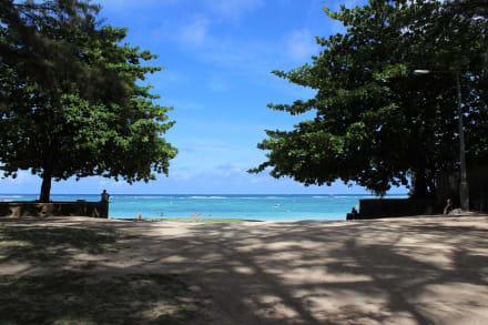 Park und Strand - Strand Trou aux Biches