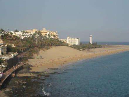 Blick von Morro Jable auf Jandia - Strand Jandia