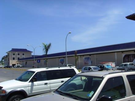 Der Gesamtkomplex von aussen - Palma Real Shopping Village