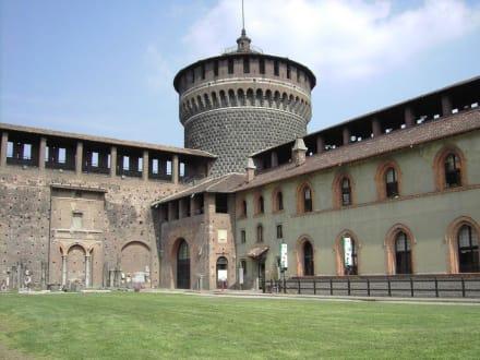 Castello Sforzesco - 4. bis 15. Jahrhundert (1) - Castello Sforzesco