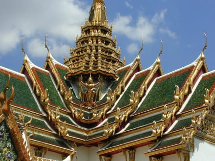 Wat Phra Kaeo - Wat Phra Keo und Königspalast / Grand Palace
