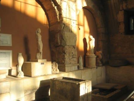 Museum Warmbaderaum/Caldarium - Side Arkeoloji Müzesi (Archäologisches Museum)