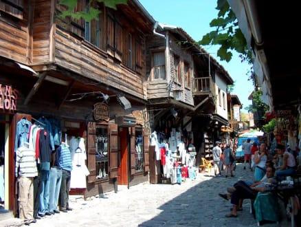 Die alten Häuser von Nessebar - Altstadt Nessebar