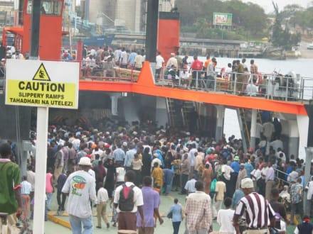 Likoni Fähre - Likoni Fähre von Mombasa