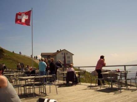 Restaurant auf dem Rigi Kulm - Rundtour Rigi