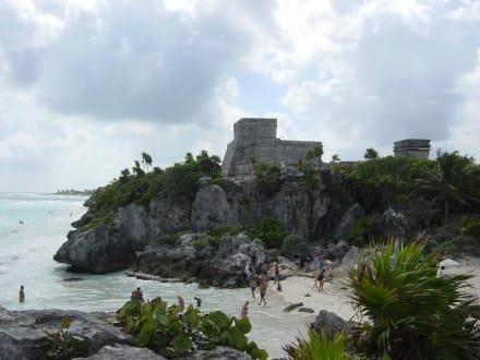 Castillo - Ruinen von Tulum