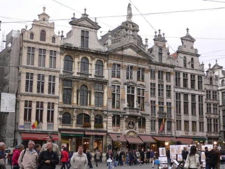Der Grand Place - Grand Place / Grote Markt