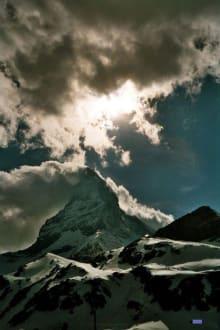 Dramatisches Wolkenspiel am Matterhorn - Matterhorn
