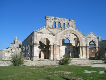 Ruine der Basilika Qalaat Samaan - Simeonskloster