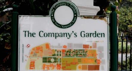 Eingang - Company Gardens Kapstadt