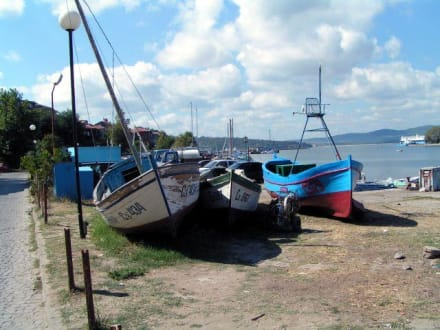 Sozopol - Hafen - Hafen Sozopol