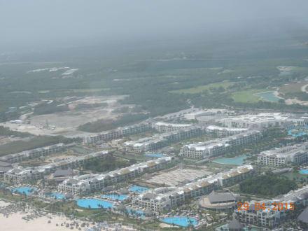 Hard Rock Hotel von oben - Helikopter-Rundflug Punta Cana