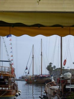Mandraki-Hafen - Hafen Kos Stadt