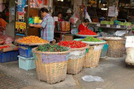 Lecker,lecker aber scharf und soooo bunt - Chatuchak Weekend Market