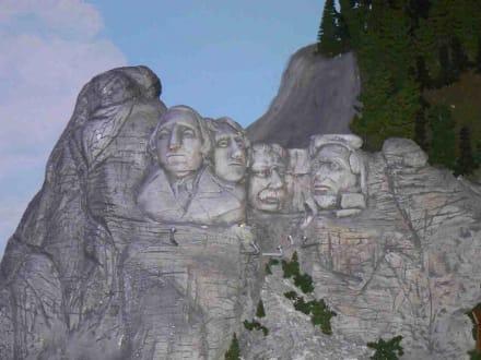 Mount Rushmore - Miniatur Wunderland Hamburg