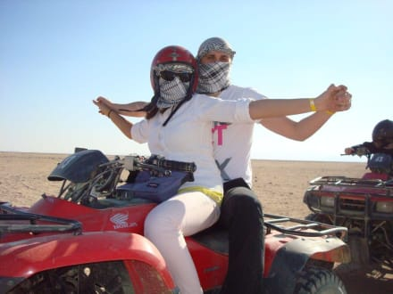 Jeep und Quad Safari, mit Mohamed - Quad Tour Makadi Bay
