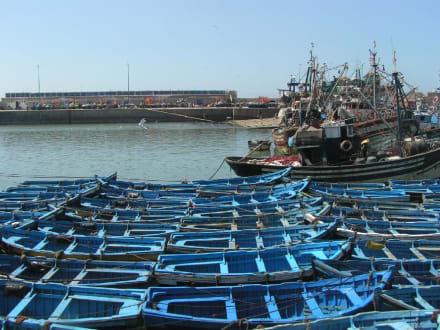 Essaouira: im Hafen - Hafen Essaouira