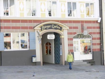 """Eingang zum """"Bullen"""" - Altstadt Bad Tölz"""