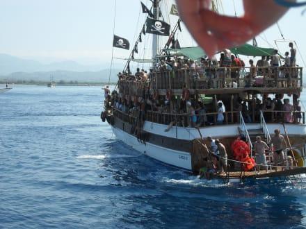 Piratenschiff - Efe's Ausflüge
