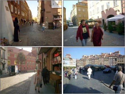 Impressionen aus der Altstadt in Warschau - Altstadt Warschau/Warszawa