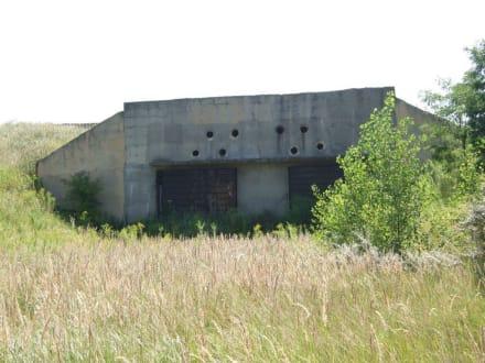 Stillgelegter russischer Bunker - Geiseltalsee