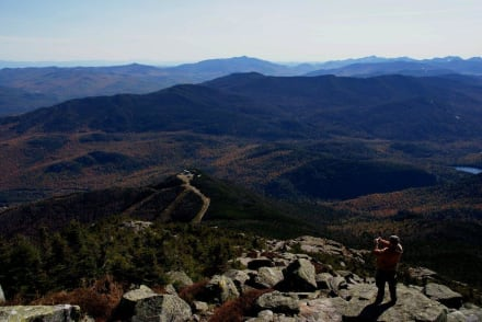 Ausblick vom Whiteface Mountain - Adirondack State Park