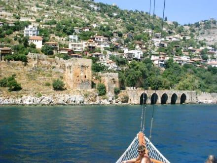 Türkische Festung - Bootstour Alanya