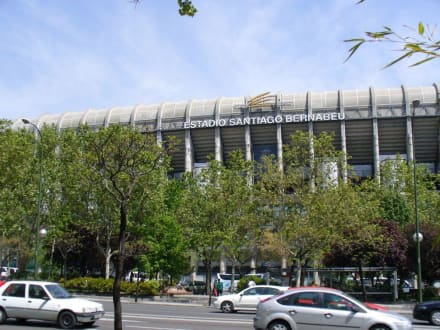 Estadio Santiago Bernabéu - Santiago-Bernabéu-Stadion
