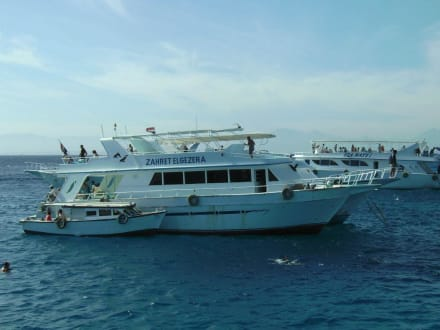 Anlegeplatz vor Hurghada - Giftun / Mahmya Inseln