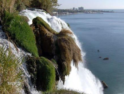 Wasserfall01 - Unterer Düden Wasserfall / Karpuzkaldiran Şelalesi