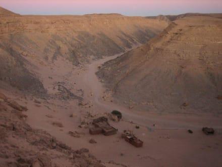 Beduinendorf im Canyon - Quad Tour El Gouna