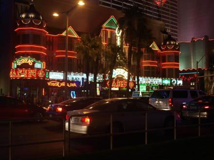 Der Verkehr kommt zum Erliegen - Las Vegas Strip