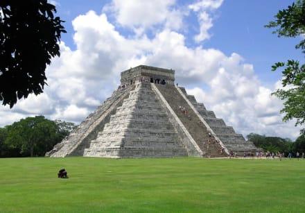 Castillo de Chitzen Itza  - Ruine Chichén Itzá