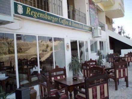 Aussenterrasse - Regensburger Restaurant (geschlossen)