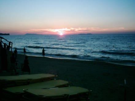 Sonnenuntergang - Strand Acharavi