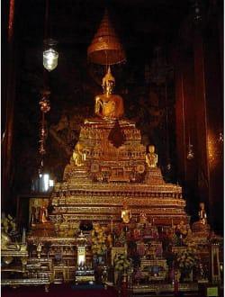 Wat Pho-Tempel-Meditierender Buddha - Wat Pho