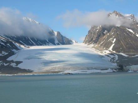 Gletscher auf Spitzbergen - Magdalenenfjord