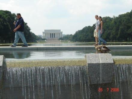 "Blick auf das ""Lincoln Memorial"" - Lincoln Memorial"